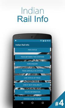 Indian Rail Info poster