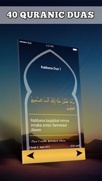 40 Rabbana Dua: Quranic Duas Islamic App 2017 screenshot 13