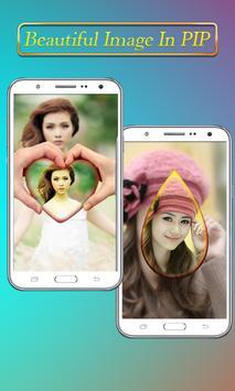 PIP Camera Collage Selfie – Insta Square DSLR HD screenshot 11