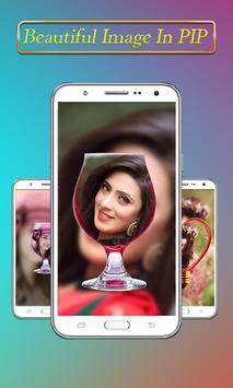 PIP Camera Collage Selfie – Insta Square DSLR HD screenshot 1