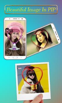 PIP Camera Collage Selfie – Insta Square DSLR HD screenshot 4