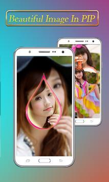 PIP Camera Collage Selfie – Insta Square DSLR HD screenshot 8