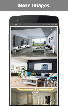 Living Room Interior Design poster