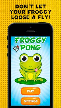 Froggy Pong poster