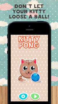 Kitty Pong poster