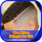 New African Hairstyles for Kids Vid icon