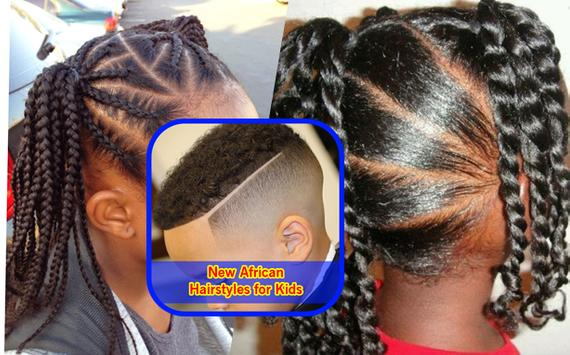 New African Hairstyles for Kids Vid poster