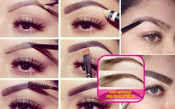 New Eyesbrows Step by Step Vid poster