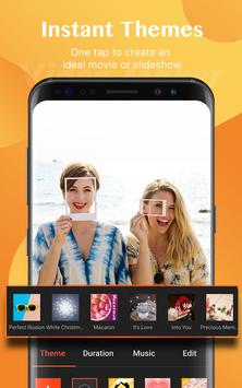वीडियो मेकर, वीडियो एडिटर, फोटो और संगीत के साथ स्क्रीनशॉट 1