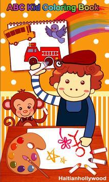 Fun Kid Coloring App poster