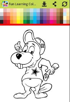 Fun Kid Coloring App screenshot 13