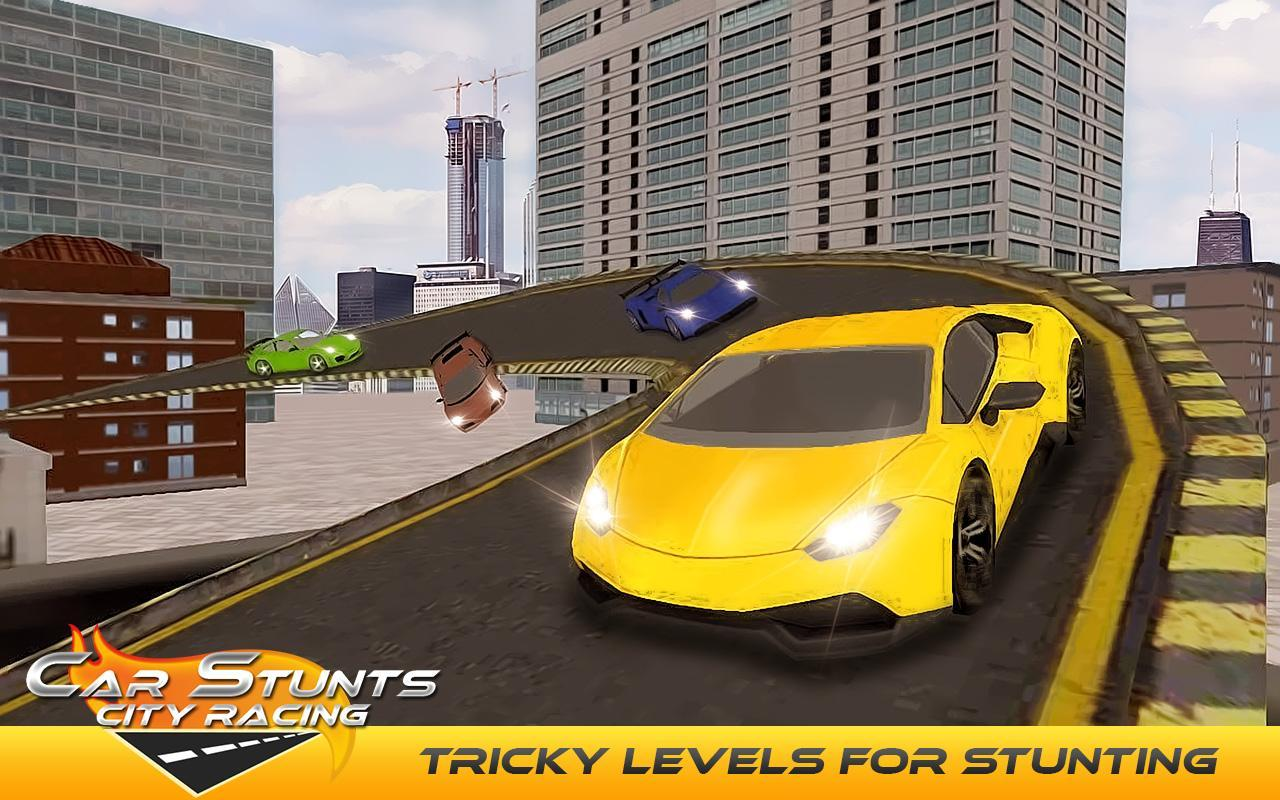 Car Stunts: Car Stunts City Racing For Android