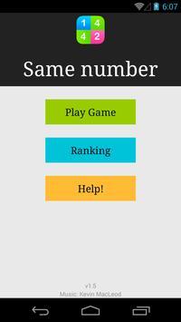 Number Hero: Find Same Number poster