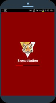 Bronstitution - Bro Code/Laws poster