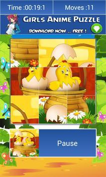 3 Schermata animali del fumetto puzzle