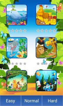 1 Schermata animali del fumetto puzzle
