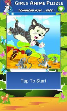 4 Schermata animali del fumetto puzzle