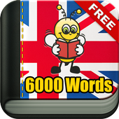 Learn English Vocabulary - 6,000 Words icon