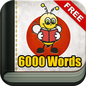 Learn Japanese Vocabulary - 6,000 Words icon