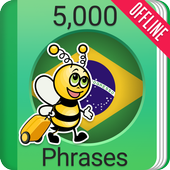 Learn Brazilian Portuguese - 5000 Phrases icon