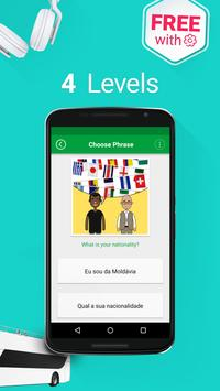 Learn Brazilian Portuguese - 5000 Phrases apk screenshot