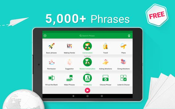 Learn French - 5000 Phrases apk screenshot