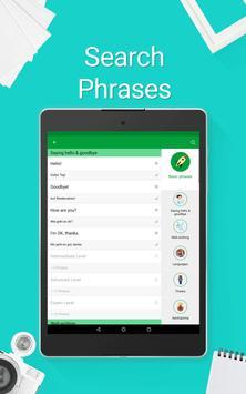 Learn German - 5000 Phrases apk screenshot