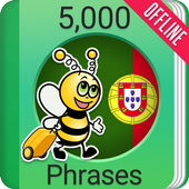 Learn Portuguese - 5000 Phrases icon