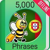 Learn Portuguese - 5000 Phrases icon