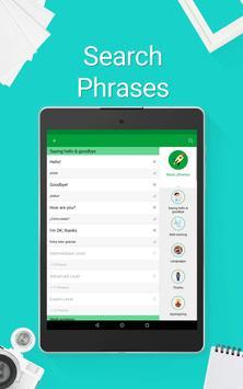 Learn Spanish - 5000 Phrases apk screenshot