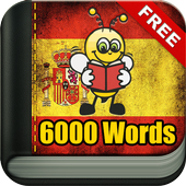 Learn Spanish Vocabulary - 6,000 Words icon