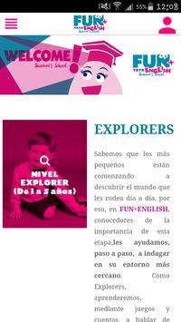 Fun+English poster