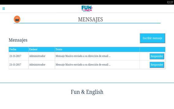 Fun+English apk screenshot