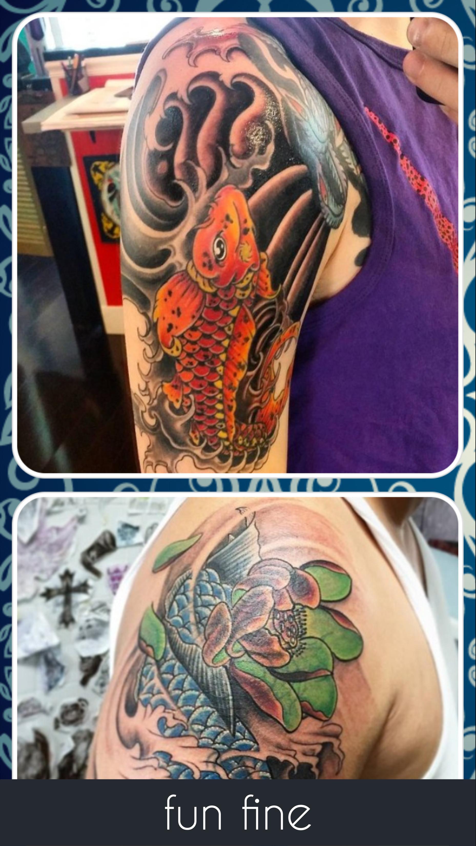 fb246e29e Koi Fish Tattoo poster Koi Fish Tattoo screenshot 1 ...