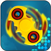 Fidget spinner new real simulator icon