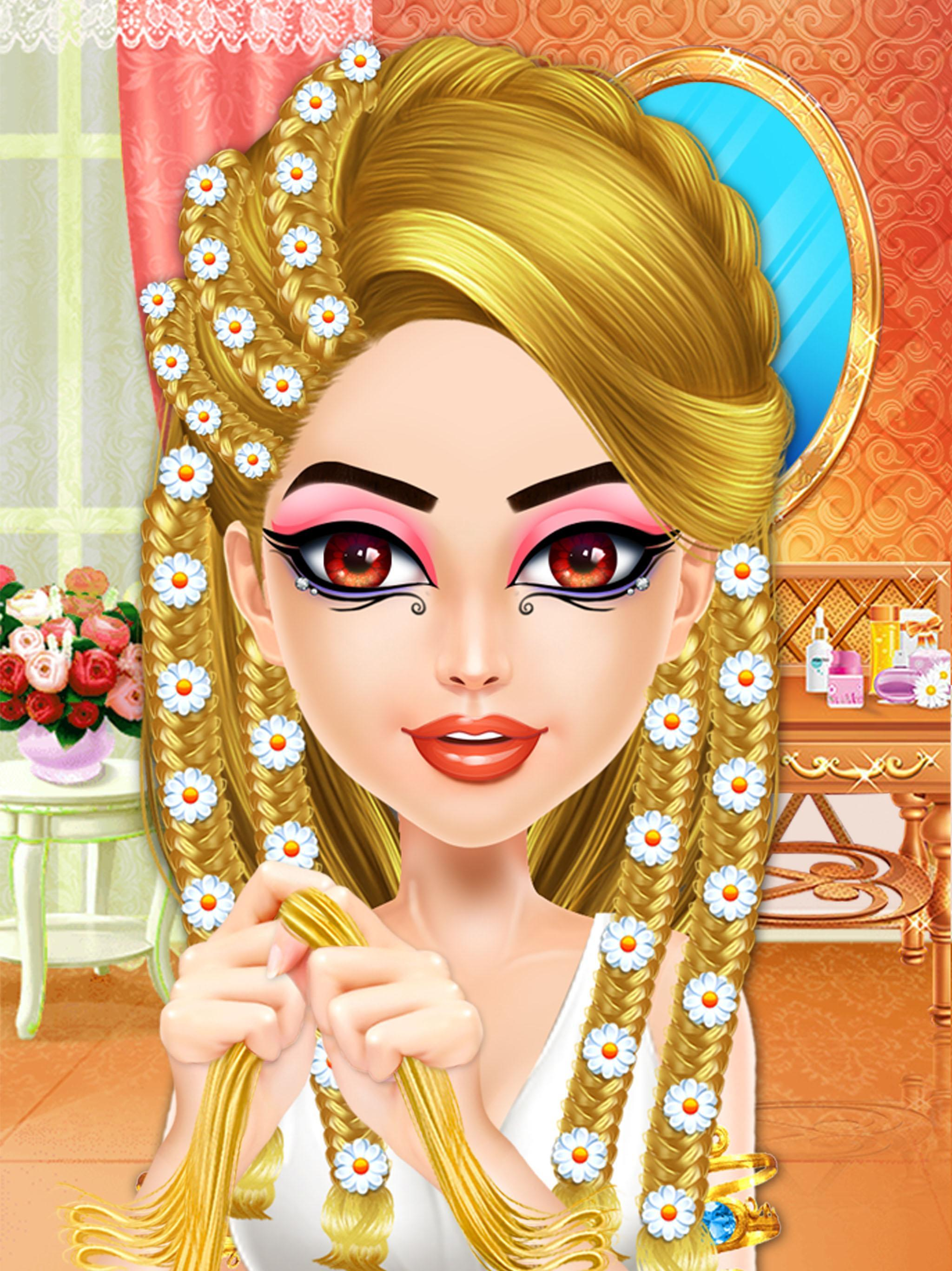 Egypt Princess Braids Girls Hair Salon Games For Android Apk Download