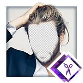 Men Hair Style Photo Montager icon