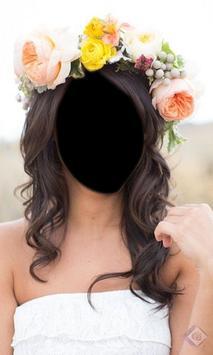 Bridal Flower Headband Montage screenshot 1