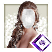 Bridal Hair Photo Montager icon
