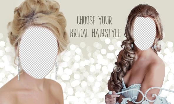 Bridal Hair Photo Montager poster