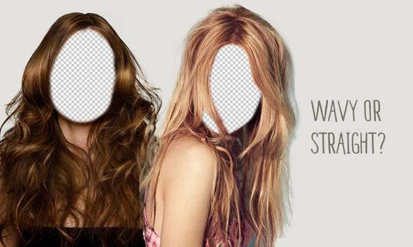 Hairstyles Long Hair Montage poster