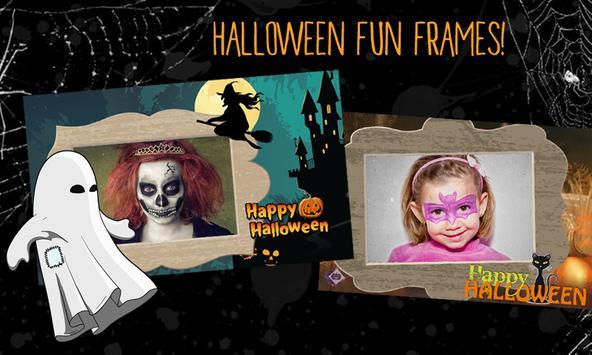 Halloween Photo Frame Maker poster
