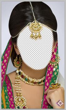 Indian Bride Hairstyle Montage apk screenshot