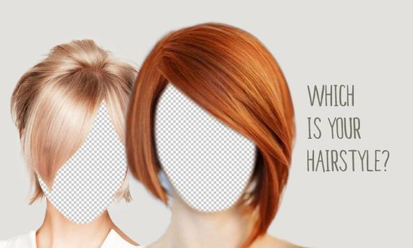 Short Hairstyles Salon Montage poster