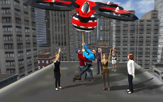 Rescue Drone Taxi Simulator : Taxi Games screenshot 3