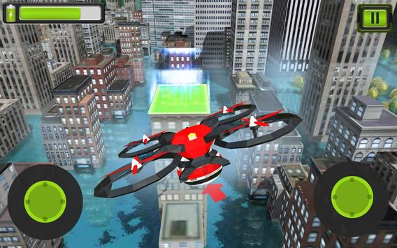 Rescue Drone Taxi Simulator : Taxi Games screenshot 14