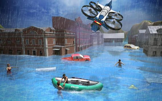 Rescue Drone Taxi Simulator : Taxi Games screenshot 18