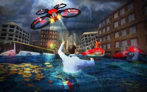 Rescue Drone Taxi Simulator : Taxi Games screenshot 8