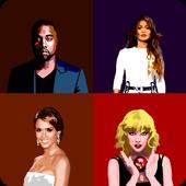 Name the Celebrity Tiles Quiz icon