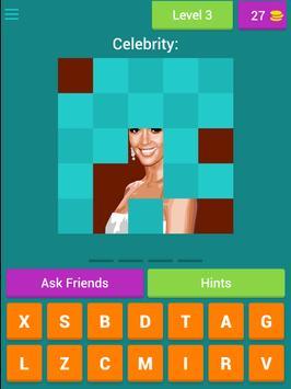 Name the Celebrity Tiles Quiz screenshot 6